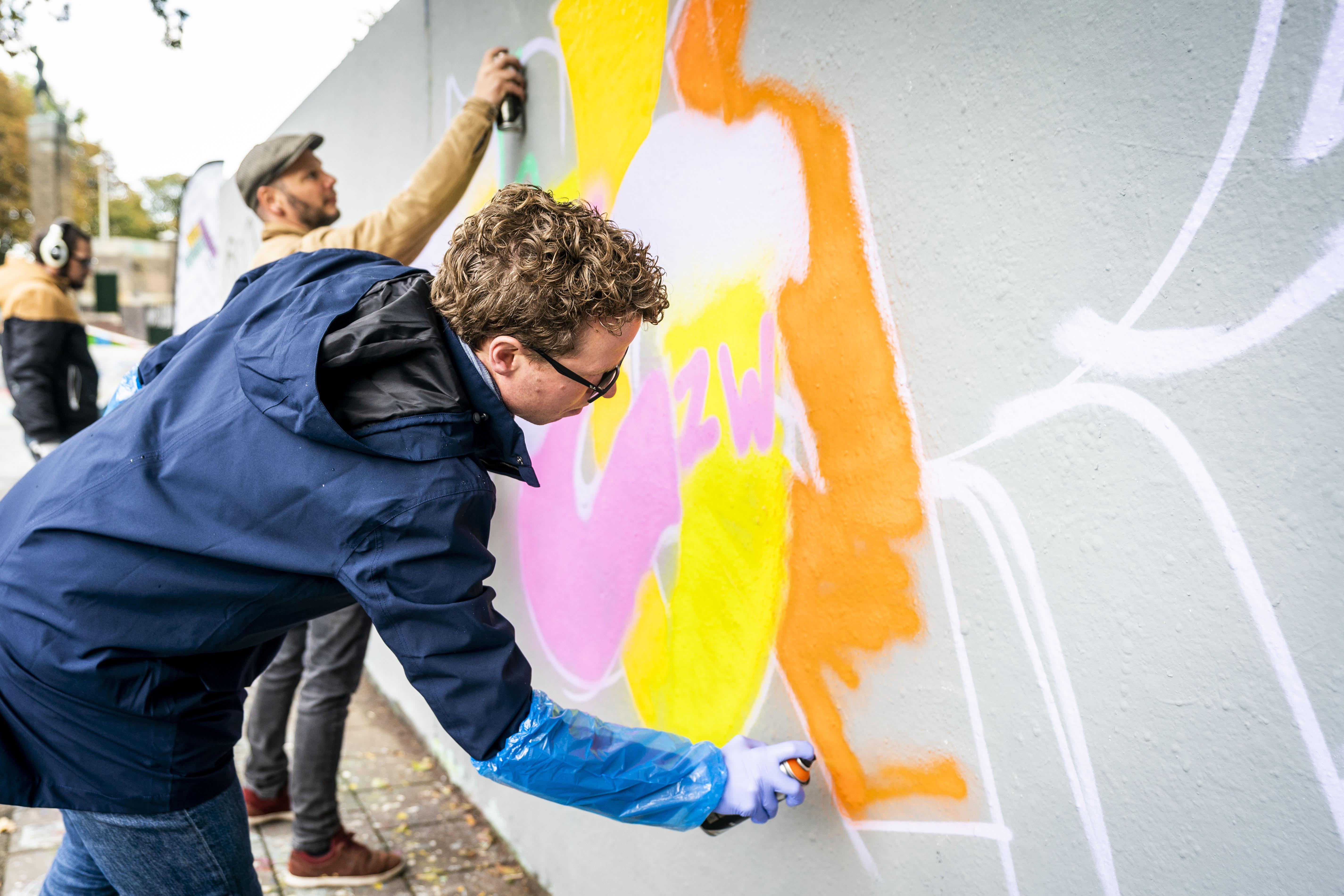Graffiti Jam 20 jaar Zuiderpark