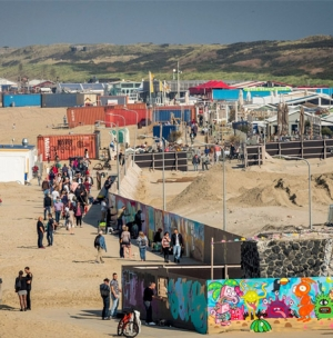 PIECE ON THE WALL - de grote graffiti jam op het strand!